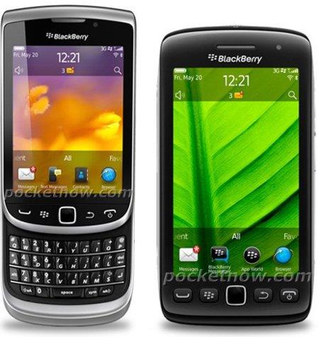 Primera imágenes oficiales de los BlackBerry 9810 Torch 2 y 9860 Touch
