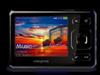 Creative lanzará el primer reproductor portátil de 32 GB en formato flash