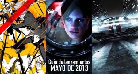 Guía de lanzamientos: mayo de 2013