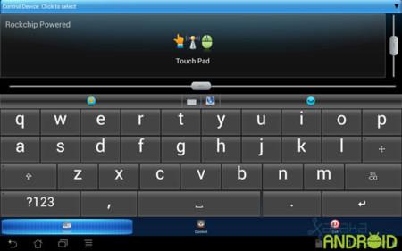 Ten Go! MicroPC: Vista con teclado