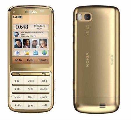 Nokia C3-01 edición dorada viene con un mejor procesador
