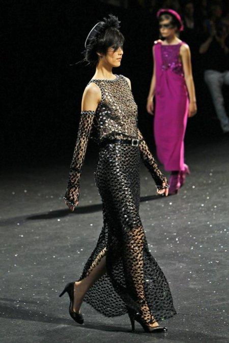 Vestido Chanel Alta Costura