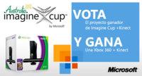 Vota y apoya al ganador nacional de Imagine Cup y te regalamos una Xbox 360 + Kinect