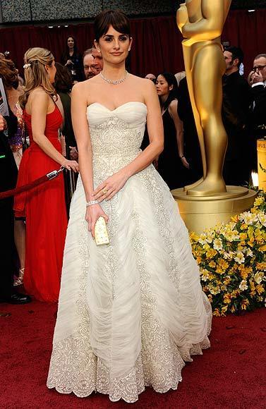 El acertado look de Penélope Cruz en los Oscar 2009