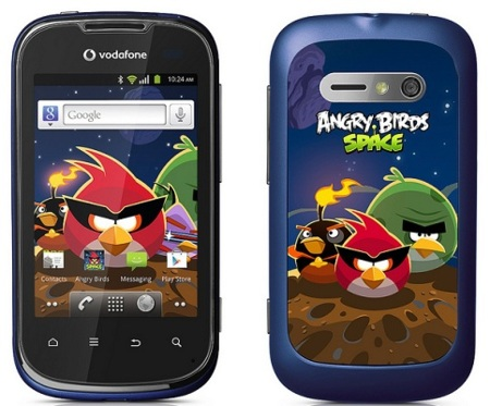 Los Angry Birds llegan a Vodafone con una edición especial de su Smart II