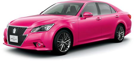 Toyota Crown Athlete rosa, edición limitada