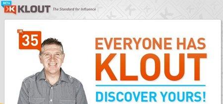 Klout, herramienta para medir la influencia de tu empresa en las redes sociales
