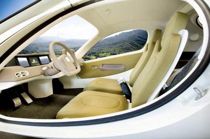 Aptera coche híbrido futurista