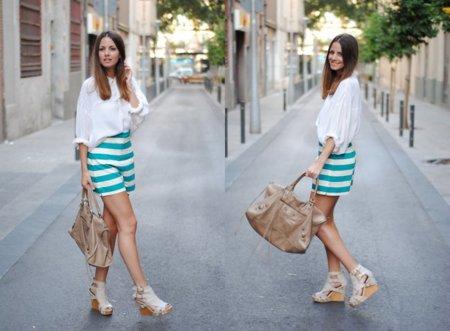 Moda en la calle: ¿looks de noche o de día? ¿vestidos o shorts?