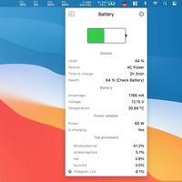 Stats, una útil app gratuita para la barra de menús de macOS que ofrece información de uso de CPU, RAM, estado de batería y más
