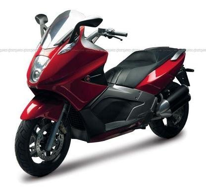 Gilera GP 800, el scooter más potente