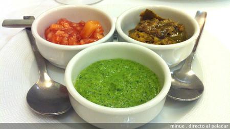 Restaurante indio taj mahal en Valencia - aperitivo