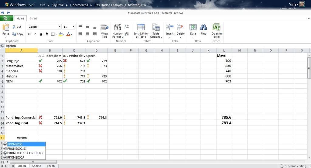 Foto de Office Web Apps Tech Preview (4/13)