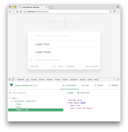 Chrome Vejs Extension