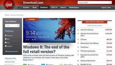 Download.com será juzgada por distribuir clientes y software P2P