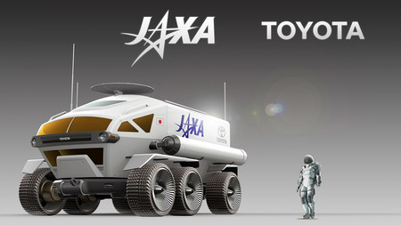 Jaxa And Toyota Pressurised Rover Concept 4
