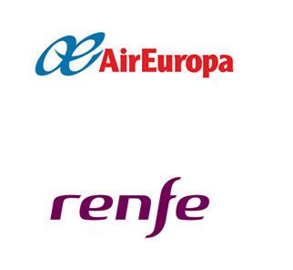 Renfe y Air Europa crean el billete tren+avión