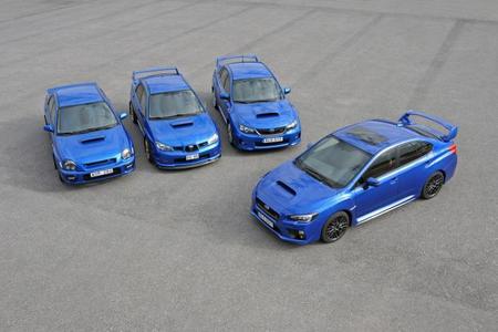 Subaru WRX STI, a la venta en España desde 44.900 euros