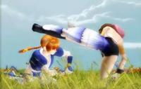 Dead Fantasy IV. Yuna de 'Final Fantasy X' contra Kasumi de 'Dead or Alive'
