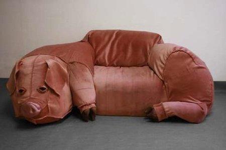 sofa cerdo