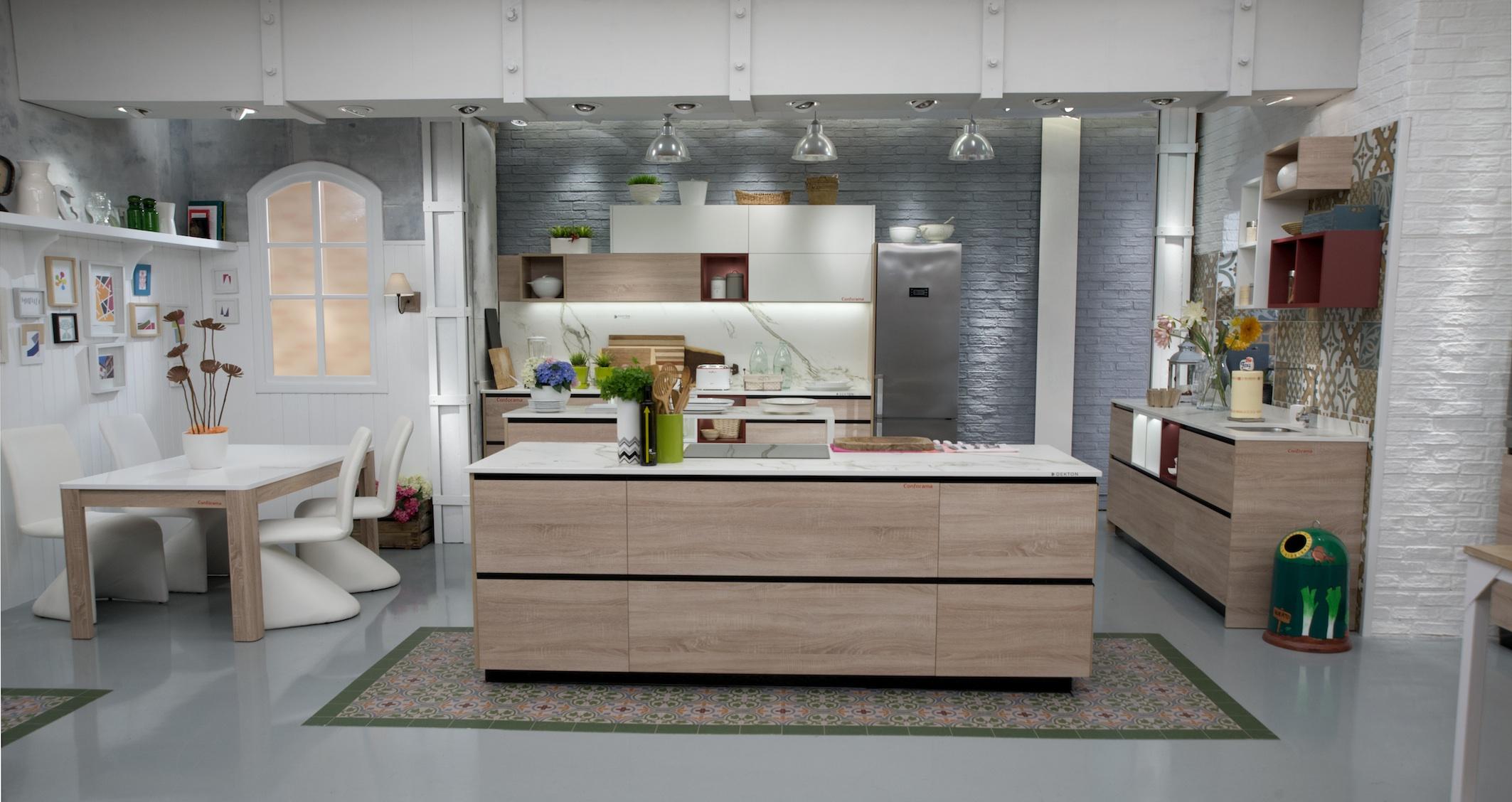 Karlos argui ano tambi n se pasa al dekton en su nueva cocina for Cocina karlos arguinano