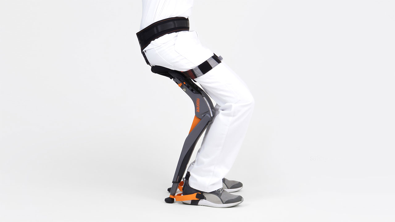 Una silla sin silla as se define este wearable for Cuanto cuesta una silla