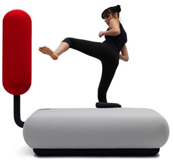 Boxing sofá, para amantes del boxeo