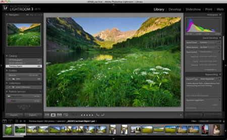 Adobe lanza la beta de Lightroom 3