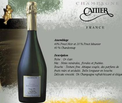 Cuvée Renaissance, Cattier