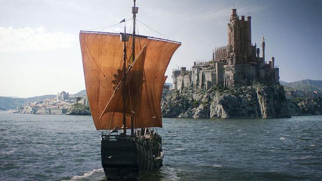 Juego De Tronos Barco