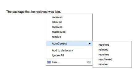 Novedades en Google Docs: fórmulas con LaTeX y autocorrección