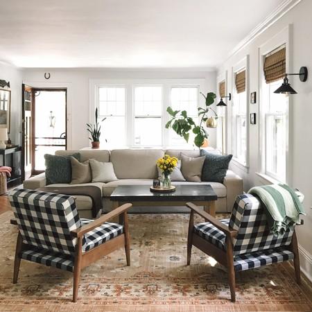 Una casa de 100 metros cuadrados que vive el cambio frecuente de su mobiliario y siempre con éxito