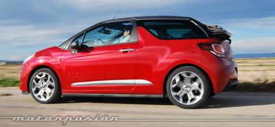 Citroën DS3 Cabrio, presentación y prueba en Valencia