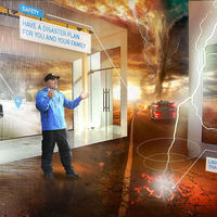 Cuando usar Unreal Engine y realidad mixta hacen que entender los fenómenos meteorológicos sea espectacular y muy gráfico