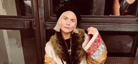 Kimonos en invierno: 7 versiones y distintas maneras de llevarlos