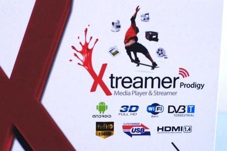 Detalle de la caja del Xtreamer Prodigy Black