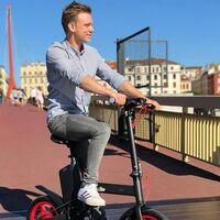Ahorra espacio con la bicicleta eléctrica plegable Beeper de Amazon ahora al mejor precio