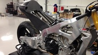 El nuevo chasis de Paul Bird Motorsport para la CRT de Michael Laverty