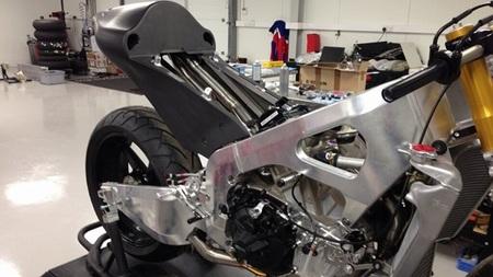 El nuevo chasis de Paul Bird Motorsport para la CRT de Michael Laverty