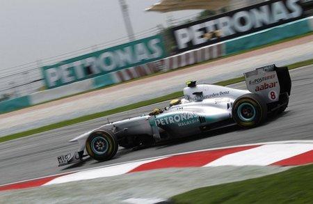 Mercedes GP me parece la decepción del GP de Malasia