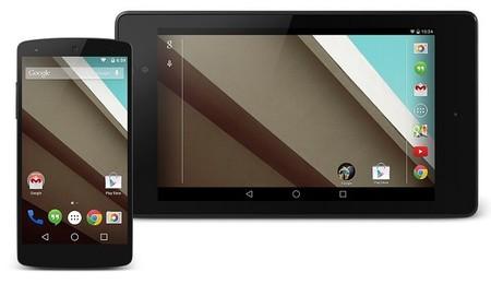 Android L recibe la actualización LPV81C, arregla unos pocos bugs y añade soporte para Google Fit