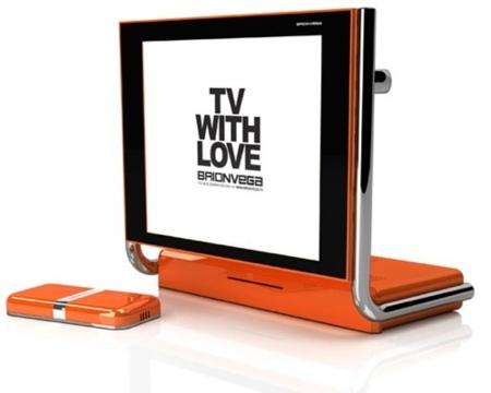 Brionvega Alpha, combo de televisor y DVD