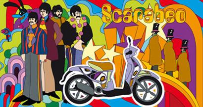 Aprilia Scarabeo y los 40 años del Sgt. Peppers de los Beatles