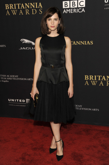 Felicity Jones Bafta 2014