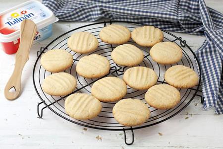 Cookies al tenedor. Receta con margarina Tulipán