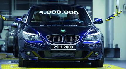 5 millones de BMW Serie 5