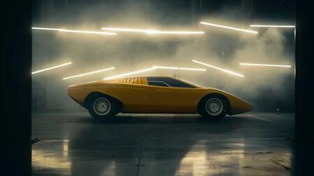 Primer Lamborghini Countach Lp500 Restaurado 1