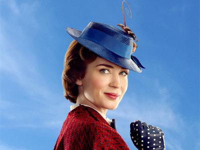 Emily Blunt guapísima en las primeras imágenes de 'El regreso de Mary Poppins'