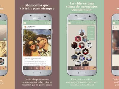 Sí, hay una app para compartir recuerdos de familiares fallecidos y se llama Alife