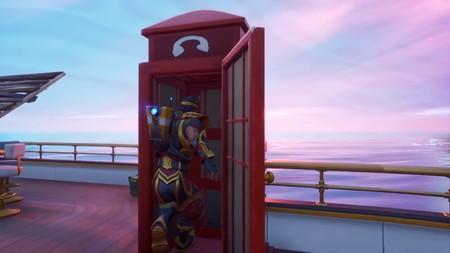 Desafío Fortnite: disfrázate dentro de una cabina telefónica en partidas distintas